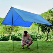 Naturehike Nh15d005-x Portable Espesado Oxford Tela Impermeable Y Resistente Al Desgaste, Estera Plegable Jardín A Prueba De Humedad, Tamaño: 215 * 215cm (azul)