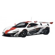AUTOart 1/18 McLaren P1 GTR White / Red Completed
