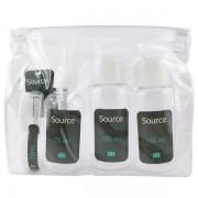 Source Trousse de voyage avec 5 flacons à remplir