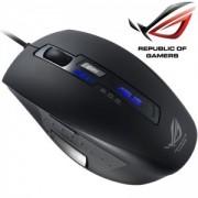 Mouse Asus Republic Of Gamers GX850, Laser, cu fir, rubber finish negru