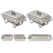 Sonata Комплект съдове за бен мари, 2 бр, неръждаема стомана