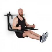 Bouncer MultiGym Stazione Fitness per Trazioni & Dip 200 kg Acciaio Nero