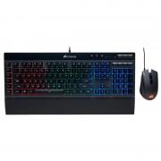 Corsair Pack Gaming K55 Teclado Retro-iluminado + Harpoon RGB Rato Óptico 6000DPI