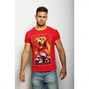 Epatage Модная футболка с принтом красного цвета Epatag RT040673m-EP
