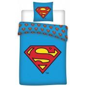Superman ágyneműhuzat 140×200cm, 70×90 cm