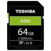 Toshiba High Speed N203 SDXC Class 10 UHS-I U1 64GB
