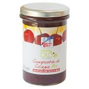 Gem bio de cirese (indulcit cu pulpa de mere) 320g