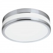 EGLO 94999 | Palermo_IP Eglo zidna, plafonjere lampa 1x LED 2100lm 3000K IP44 krom, belo