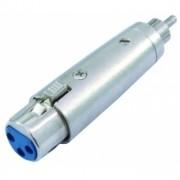 OMNITRONIC Adapter RCA(M)/XLR(F)