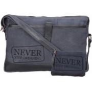 NEUDIS 15 inch Laptop Messenger Bag(Blue)