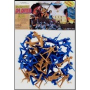 Authentic Alamo Figure 54mm Playset Bagged Playsets