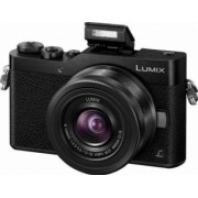 Aparat foto Mirrorless Panasonic Lumix DC-GX800KEGK 3.5-22mm 16MP Black