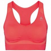Odlo Women`s Sports Bra Seamless High Reggiseno sportivo (XL, rosso)