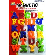 Smart Buy Magnetic Alphabets Numbers Capital and Small Letter High Quality New Design (Capital Letters : Size BIG)