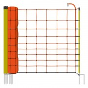 50m VOSS.farming Electric Fence Netting, 108cm, 2 Spikes, Yellow Posts