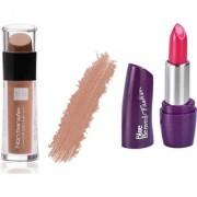 Blue Heaven Cosmetics Lip Gloss Liquid Nude Lips 2.8 ml Pack of 2