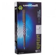 Onyx Roller Ball Stick Dye-Based Pen, Blue Ink, Micro, Dozen