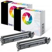 HP Laserjet Pro M102W Multipack 2x Toner cartridge 2 Zwart huismerk