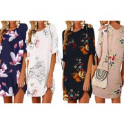 Boni Caro £11.99 instead of £40 for a casual floral print dress from Boni Caro - choose from UK sizes 8-18 and save 70%