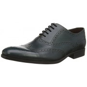 Clarks Men's Banfield Limit Leat Green Leather Formal Shoes - 10 UK/India (44.5 EU)