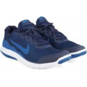 Nike FLEX EXPERIENCE Running Shoes(Navy, White)