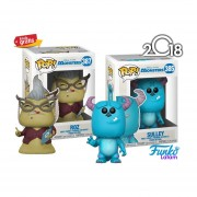 Set Sulley Y Roz Funko Pop Monsters Inc Pelicula Disney 2018