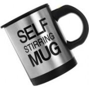 Arythe Self String Mug Personal Coffee Maker(Black, Silver)