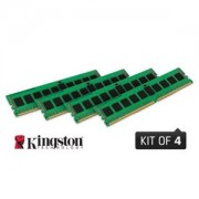 Memorie Kingston ValueRAM 32GB (4x8GB) DDR4, 2133MHz, PC4-17000, CL15, ECC Registered, Quad Channel Kit, KVR21R15S4K4/32