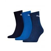 PUMA Soft Cotton Logo Socks 3 Pack BBN