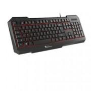 Клавиатура Genesis RX11 Backlight , гейминг, LED подсветка, черен, USB