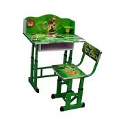 Kajal Toys™ 3D Kids Table Chair with Ben Ten 3 D Character