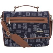 FUNK FOR HIRE 15 inch Laptop Messenger Bag(Blue)