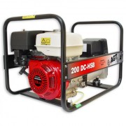 Generator sudura Honda de santier WAGT 200 DC HSB SE , putere monofazata 4 kVA