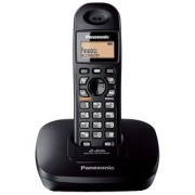 Panasonic Kx-Tg3611-Sxb Cordless Landline Phone (Black)