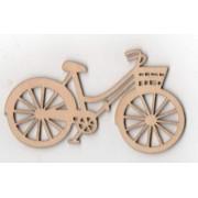 Vélo bois 90 mm x 40 mm à décorer ou à peindre