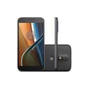 Smartphone Motorola Moto G4 Dual Chip Android 6.0 Tela 5.5'' 16GB Câmera 13MP - Preto