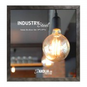 Axolia Cadre Industry Steel 50x50 cm acier