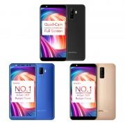 Telefon mobil Leagoo M9 2GB RAM 16GB ROM Android 7.0 5.5 inch 18:9 Full Screen MT6580A QuadCore Amprenta