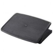 Hjh Poggiapiedi ergonomico COSIMO STRIPE, inclinazione regolabile, antiscivolo