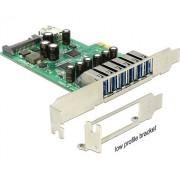 PCIe kártya > 6 x külső + 1 x belső USB 3.0