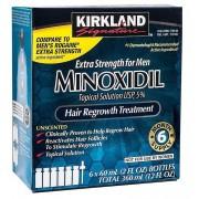 Kirkland Signature Kirkland Minoxidil oplossing 5% voor mannen-6 maand levering: verva...