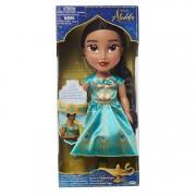 Papusa Jasmine cu rochie turcoaz