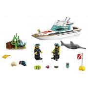LEGO® City 60221 Iaht pentru scufundări