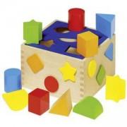 Дървена Кутия Goki, за сортиране, 871056