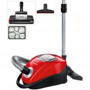 Aspirator cu sac Bosch GL-45 Zoo'o ProAnimal BGL45ZOO1, 650W, HEPA, perie SilentClean Premium, perie ProAnimal turbo, perie pentru parchet, duza ProAnimal pentru tapiţerie, duză pentru colţuri