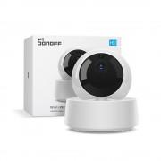 Camera smart IP 360 Sonoff GK-200MP2-B, Wi-Fi Ethernet, 1080p, senzor IR, suport RTSP, 2 way audio