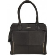 Justanned Women Black Satchel