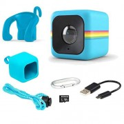 Polaroid Lifestyle Cube ACT TWO HD 1080p Waterproof Action & Underwater Wide Angle Sports Video Mini Camera Bundle