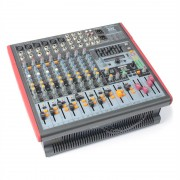 POWER DYNAMICS PDM-S1203A 12-канален смесител AMP USB DSP MP3 AUX EQ FX (Sky-171.151)