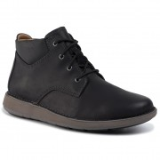 Обувки CLARKS - Un Larvik Top 261446037 Black Leather